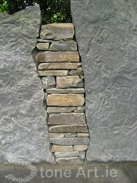 stacked stone bench stone art blog more on stone benches