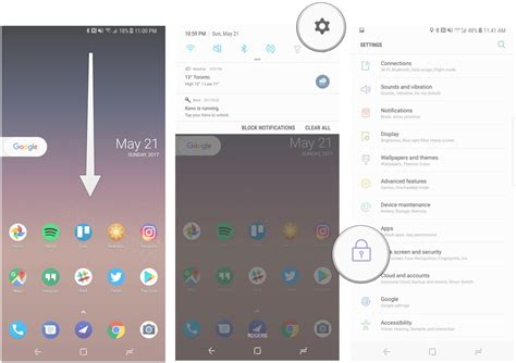 how to enable pattern lock on android phone without any app how to enable iris scanning and face unlock on the galaxy