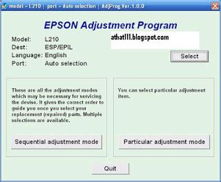 cara reset epson l210 ink level cara reset epson l210 fortuna ink