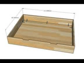 faire un tiroir de rangement pour lit 233 volutif