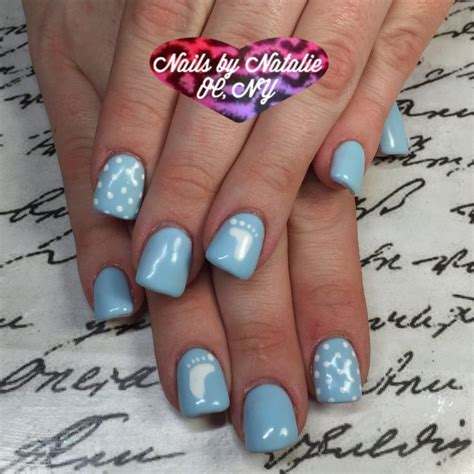 Baby Shower Nails by 25 Best Ideas About Baby Boy Nails On Baby