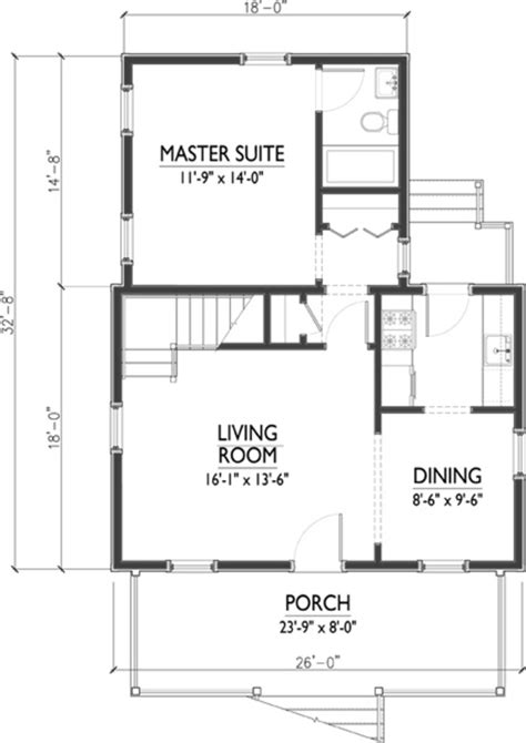 floor plan 1200 sq ft house cottage style house plan 3 beds 2 baths 1200 sq ft plan