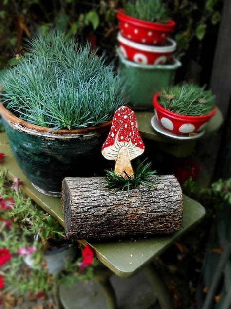 clay mushroom tutorial     ornament home
