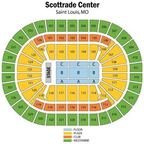 scottrade center seating rows katy perry august 20 tickets louis scottrade