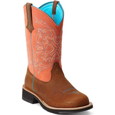 10012810 ariat s fatbaby western boots copper