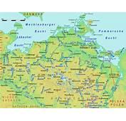 Mecklenburg Vorpommern Karte Bundesl&228nder  Landkarte