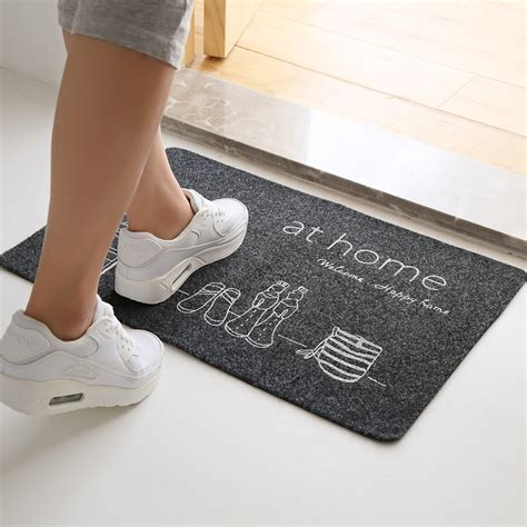 Ultra Thin Bath Rug Ultra Thin Non Slip Bath Home Mats Entrance Door Doormat Home Foyer Floor Mud Oe Ebay