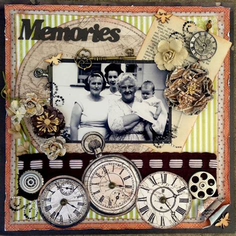 scrap book pictures pin by becky lewis on heritage vintage scrapbook pages