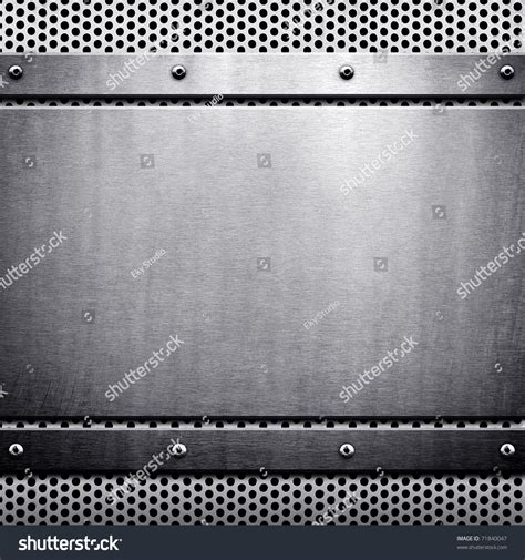 metal template metal template background stock photo 71840047