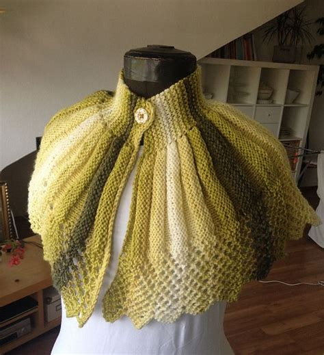 Knit Cape ravelry project gallery for fashioned knitted cape