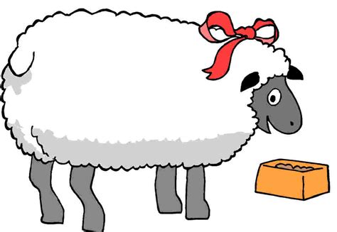 Clipart Of A Sheep moved permanently