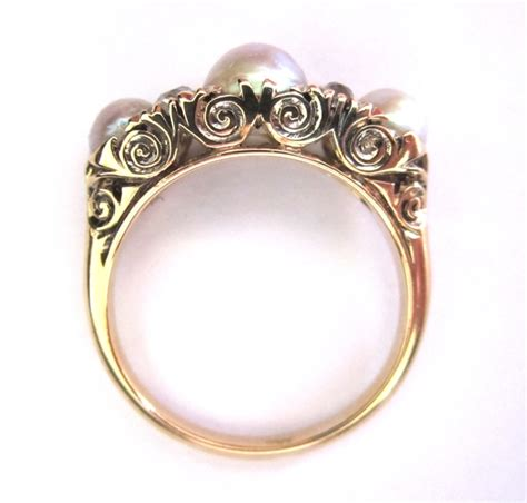 antique pearl and ring antiques co uk