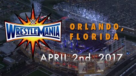 one outs 33 when is wrestlemania 33 date location start time