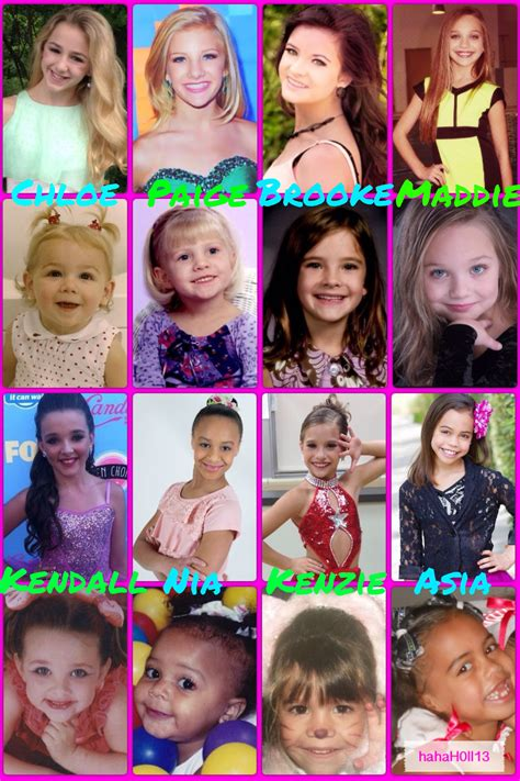 where are the dance moms kids now dance moms girls when they were little α η c ε м σ