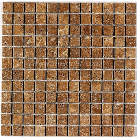 Mozaik Model tumbled travertine mosaic model 122 tumbled mosaic