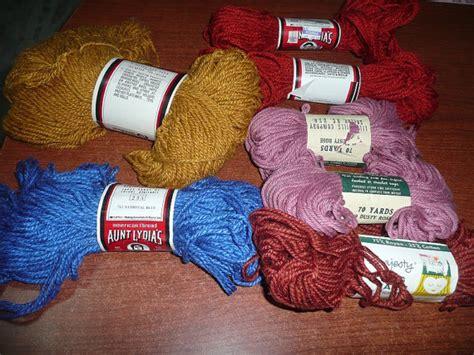rug yarn skeins lilyaunt lydia s majestic rug yarn skeins free by marysbricabrac