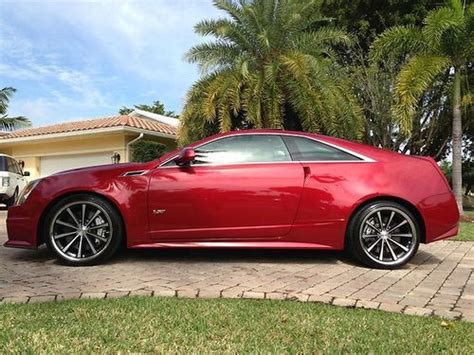 Cts 2 Door by Buy Used 2011 Cadillac Cts V Coupe 2 Door 6 2l In Dothan