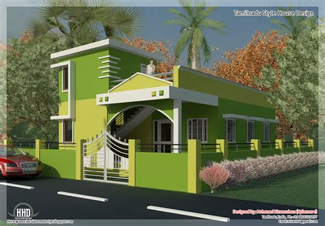 Tamilnadu House Plan 875 Sq 2 Bedroom Single Floor Home Design A Taste In Heaven