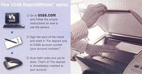 Usaa Background Check Deposit Checks From Home Using Your Scanner