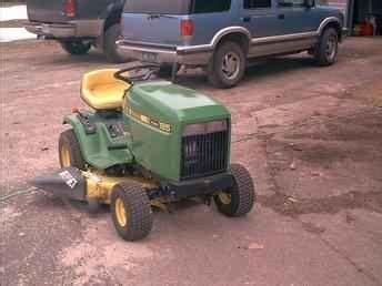 Used Farm Tractors For Sale John Deere 185 Hydro Sharp