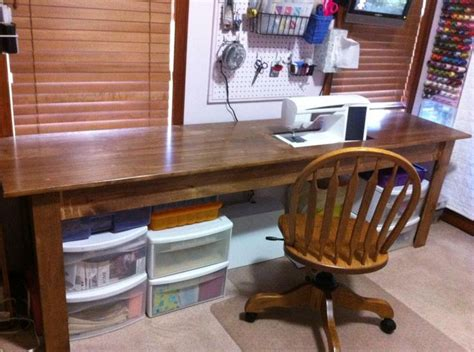 Diy Sewing Desk 86 Best Sewing Tables Images On Pinterest Sewing Tables Quilting Room And Sew