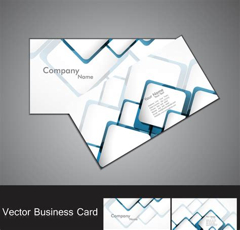 Circle Business Card Template Illustrator by Abstract Blue Colorful Circle Business Card Set Free