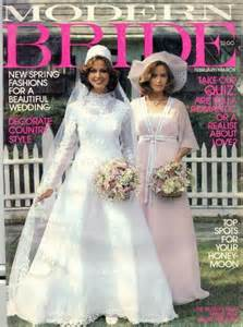 Modern bride magazine february march 1977 for sale