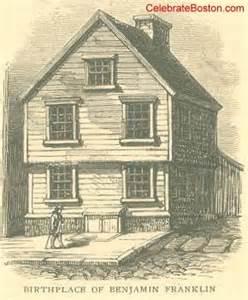 benjamin franklin birthplace in boston