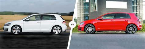 golf gt1 2017 vw golf gti vs golf gtd battle at the pumps carwow