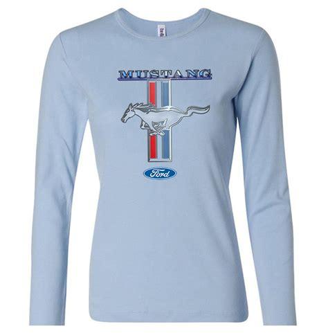 ford mustang shirt stripe sleeve t shirt