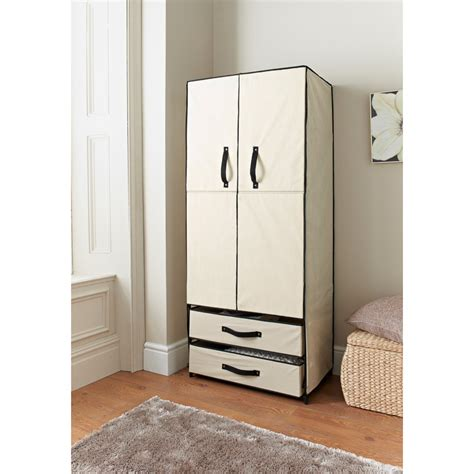 deluxe canvas wardrobe bedroom furniture furniture