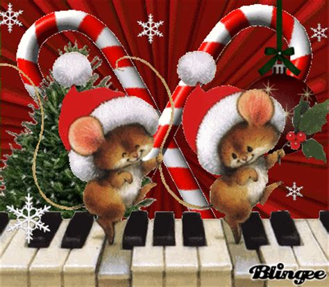 christmas mice picture  blingeecom