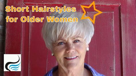 hair follicles in older women narrowing short women s haircut and hairstyles for older women youtube