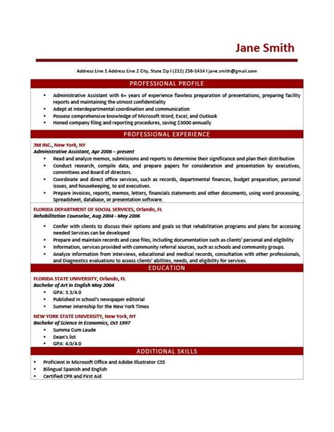 profile statement resume templates instathreds co