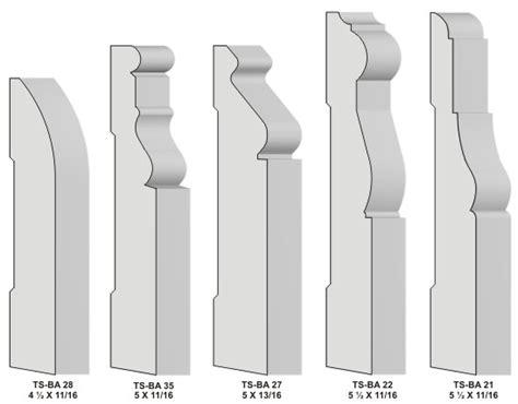 Trim Baseboard base amp baseboard knives for moulders