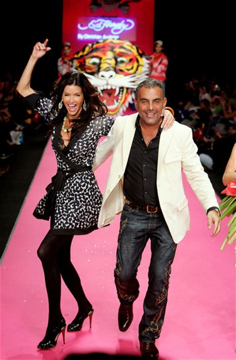 Janice Dickinson Causes At Ed Hardy Show by Christian Audigier And Janice Dickinson Photos Ed Hardy