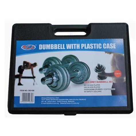 Dumbbell Mydin Db630 Dumbbell With Plastic 15kg Rcl Sport
