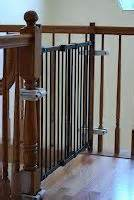 Childproofing Stair Railings by Stair Spindles On Pinterest Laminate Stairs Iron