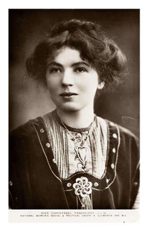 miss christabel pankhurst: c.1910 by national women's