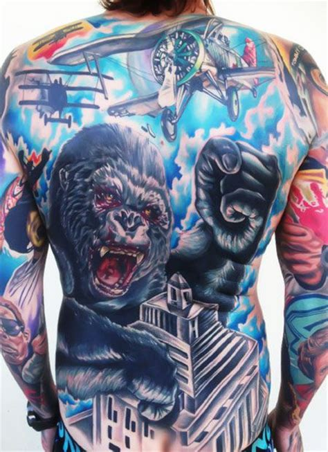 king kong tattoo 41 best king kong tattoos images on king kong