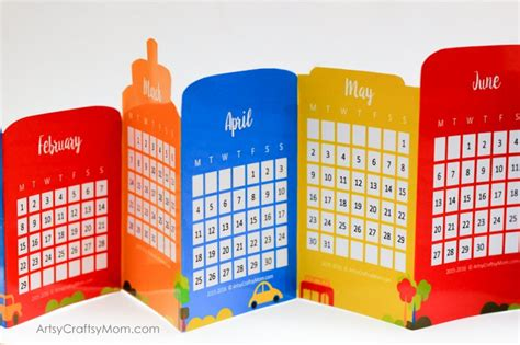 accordion book template printable free cityscape accordion fold 2017 printable calendar