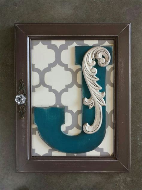 Cabinet Doors And More Fordsville - monogram wall hanging from a cabinet door made by