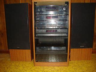 Rack System Stereo by Vintage Mini Component Stereo System Realistic Mint Condition