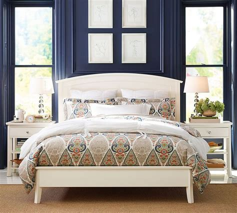 Pottery Barn Teen Bedrooms a dash of orange in this global style duvet contrasts with
