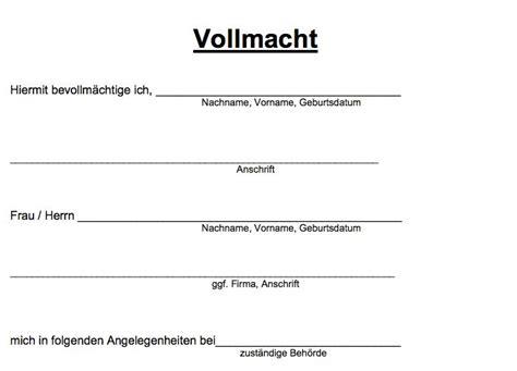 Vollmacht Zum Auto Anmelden by Die Besten 25 Vollmacht Ideen Auf Pinterest Vollmacht