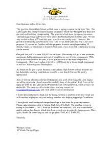 Thank You Letter Baseball Team photos of donation letter template for sports sports donation letter