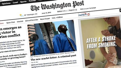 washington post jobs section the washington post starts selling ads in its comments