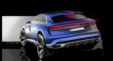 sketch book a5 2017 audi q8 concepts