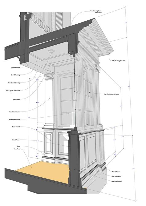 Bay Window Section Detail by Bay Window Section Jpg 1020 215 1442 Building Components