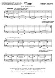 theme music inception 36954068 time inception piano sheet music arranged by